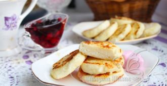 Сырники без сахара - рецепт из творога на сковороде