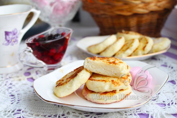 Сырники из творога без сахара - рецепт с фото пошагово