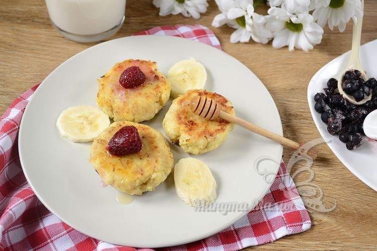 Сырники из творога с овсянкой - рецепт с фото пошагово, пышные, как в садике