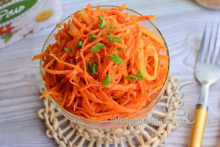 Фото-рецепт Хе из моркови по-корейски