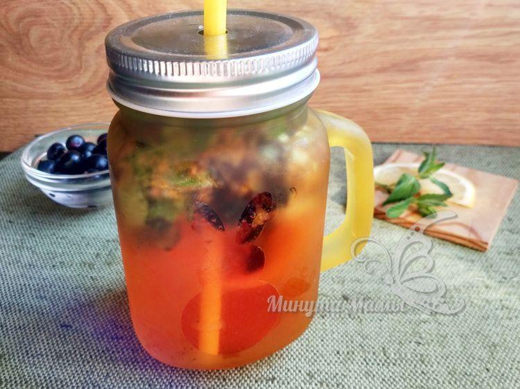 Мохито из черной смородины и мяты на зиму – рецепт с фото пошагово
