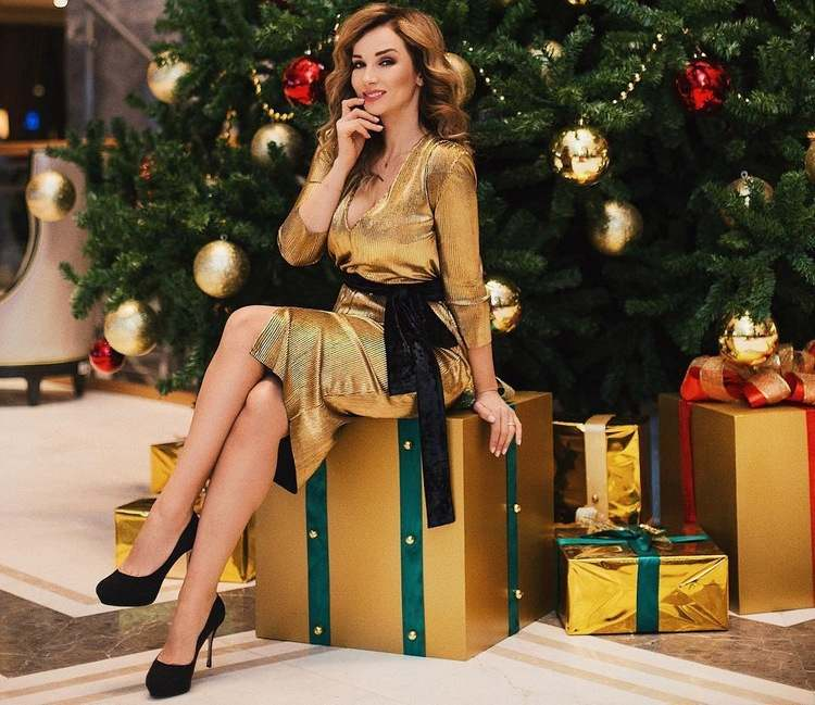 Платье металлик для новогодней ночи
