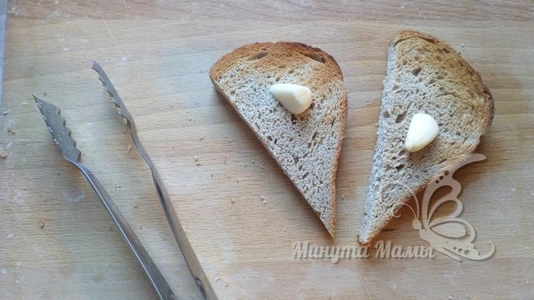 Быстрые бутерброды со шпротным паштетом - рецепт пошаговый с фото