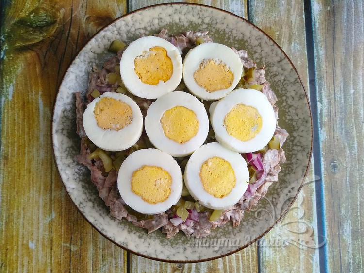 Отварить яйцо