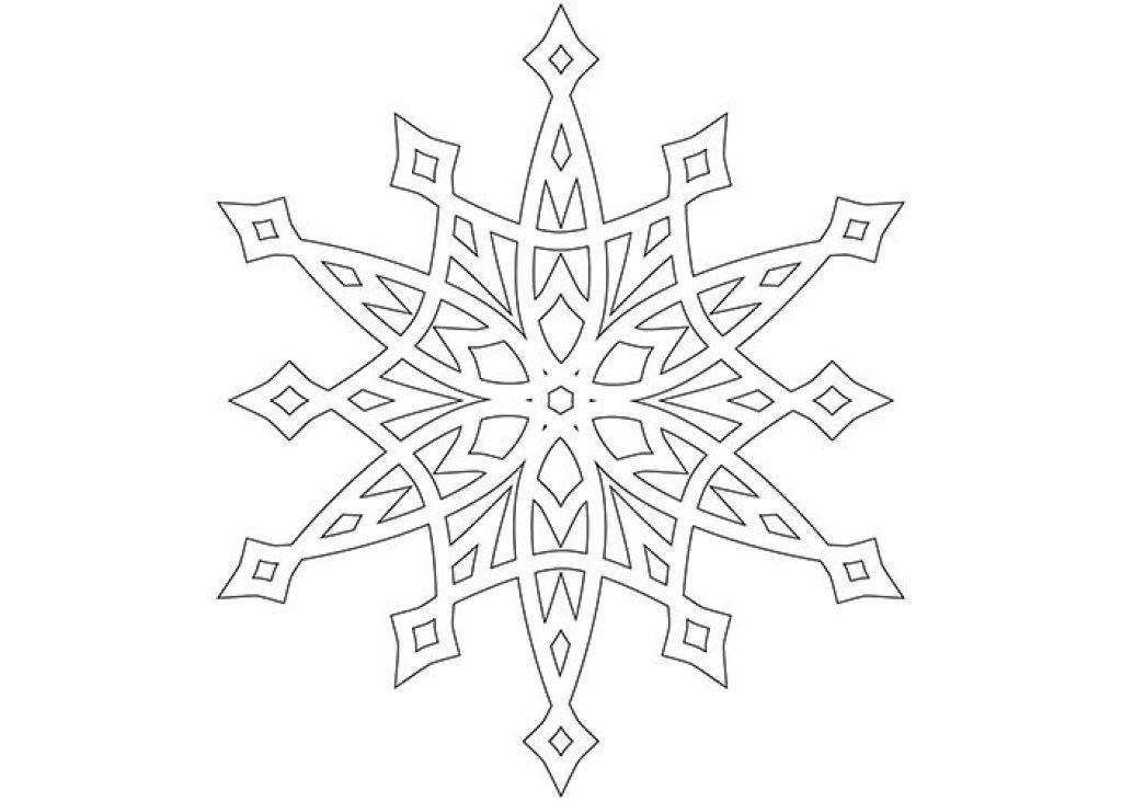 вместе картинки новогодних снежинок для вырезания создания