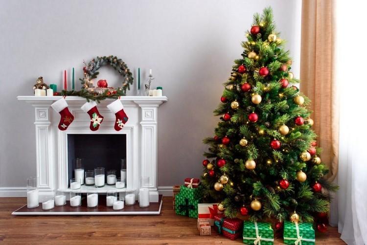 Как украсить елку и дом