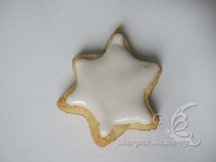 украшать печенье