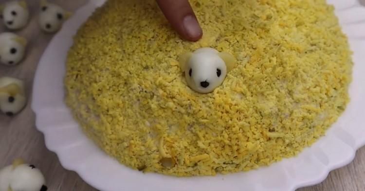 мышки на салате