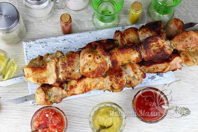 Шашлык из свинины, самый вкусный маринад