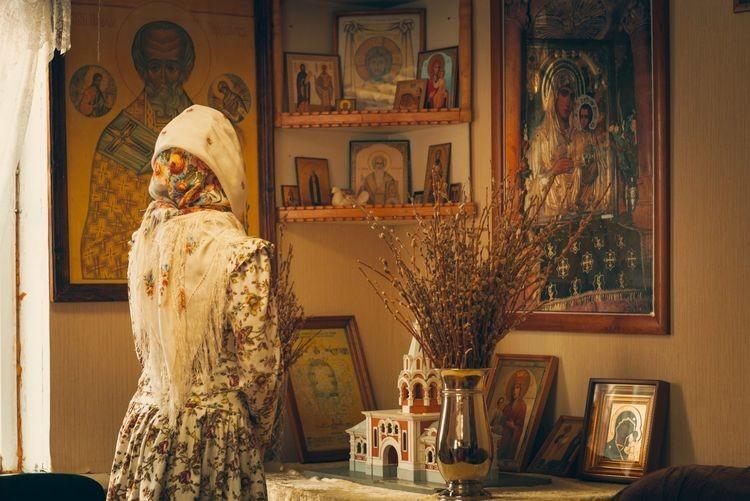 Молитва перед иконами