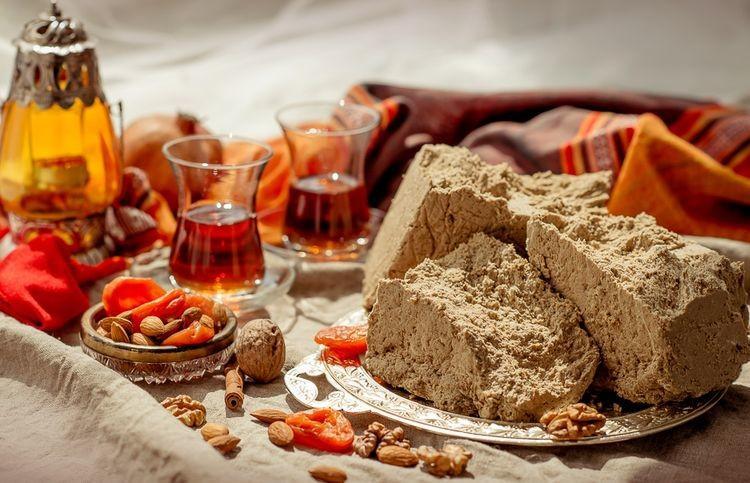 Орехи и сухофрукты в Великий пост