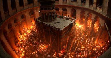 На Пасху будет закрыт Храм Гроба Господня, а значит благодатный огонь не снизойдет
