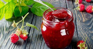 Малиновое варенье «Пятиминутка» на зиму: 5 рецептов