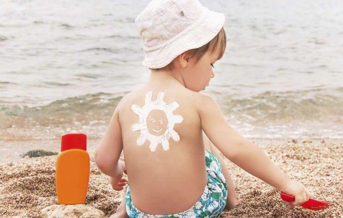 средства от солнца для детей