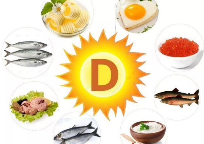 продукты в которых содержится витамин д