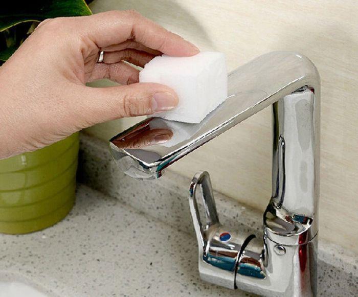 меламиновая губка для сантехники
