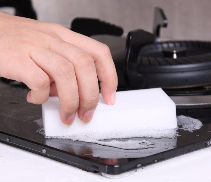 меламиновая губка-ластик для плиты