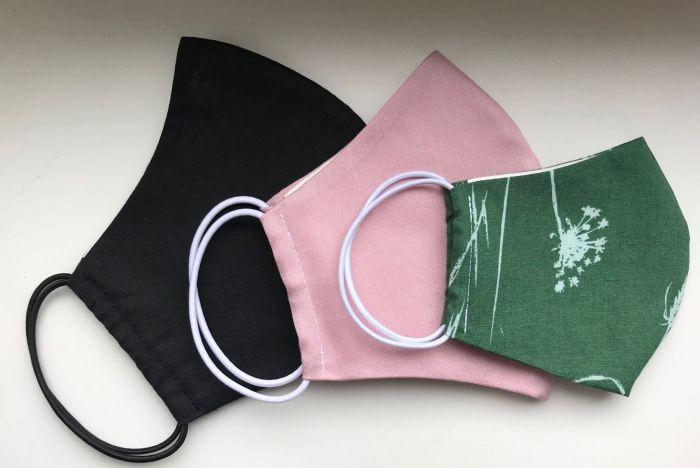 маски для лица с резинками