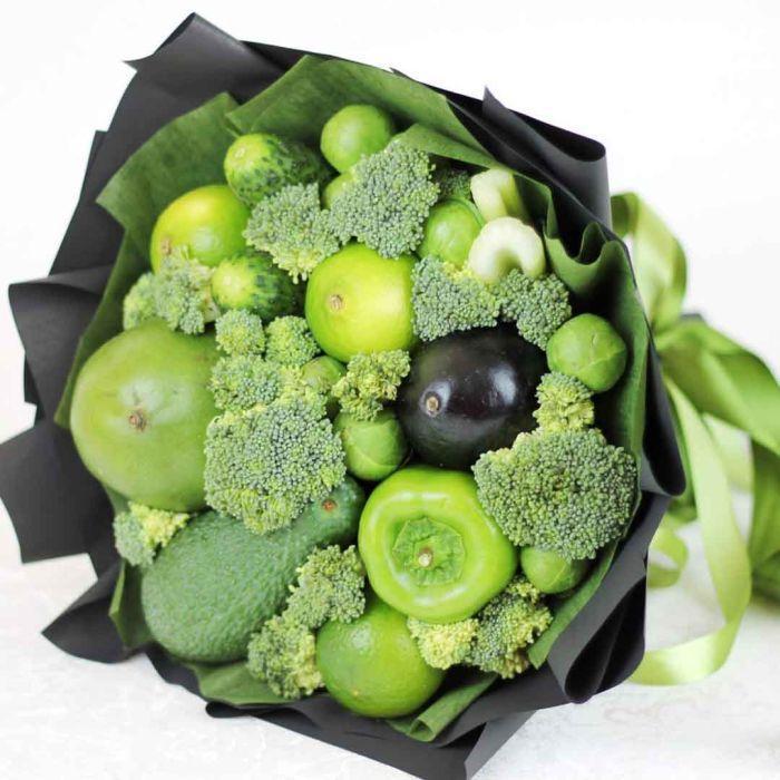 необычный букет из овощей