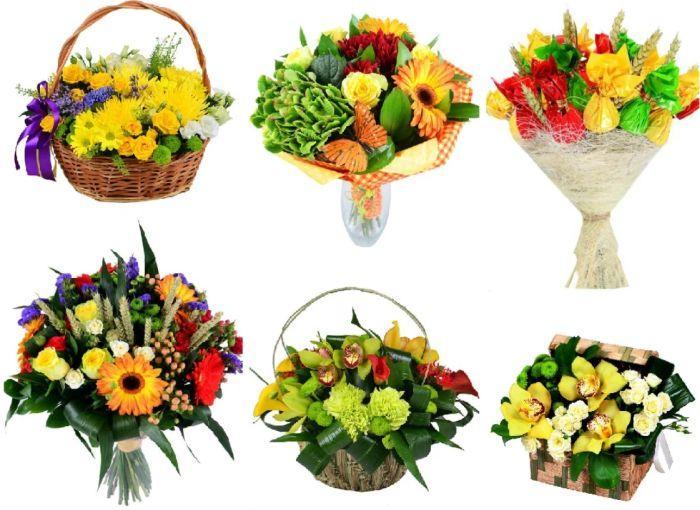 букет цветов учителю на 1 сентября