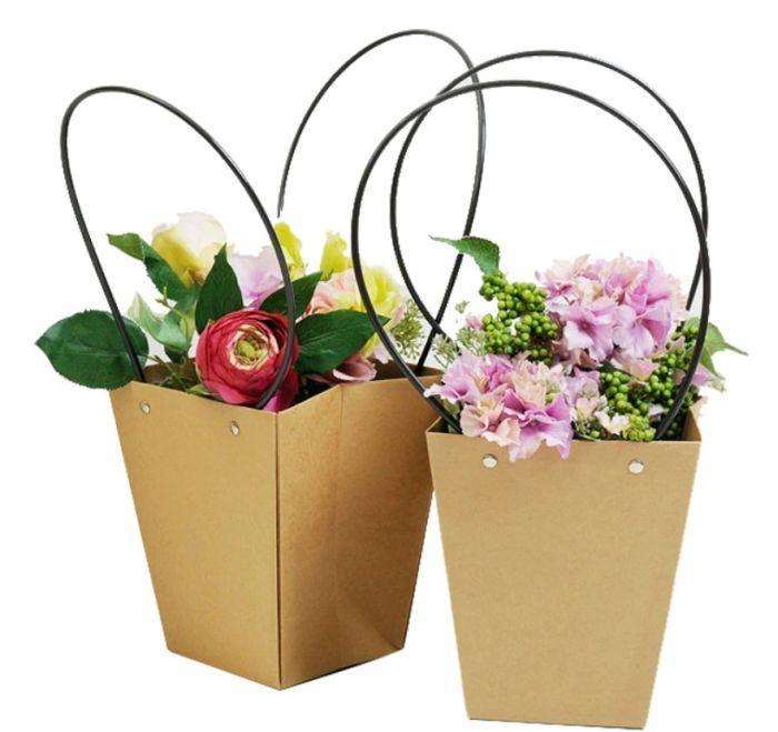 пакет с цветами на 1 сентября