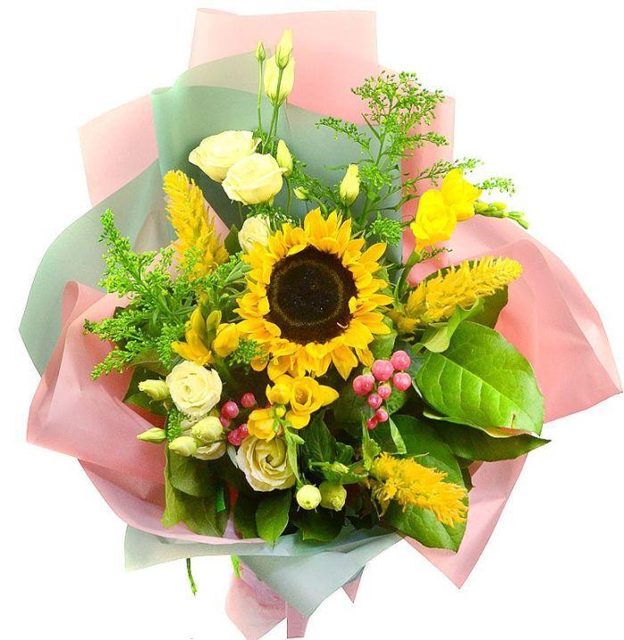 оригинальный цветочный подарок