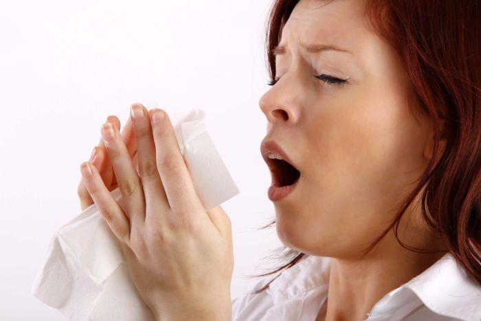 чихание и кашель в салфетку