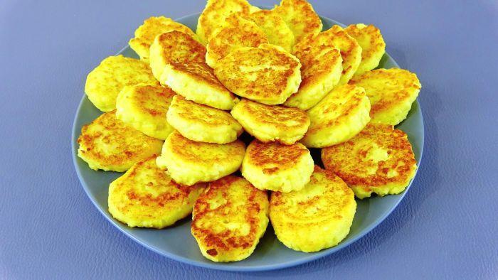 сытный завтрак сырники с картошкой рецепт