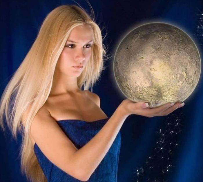 луна и волосы связь