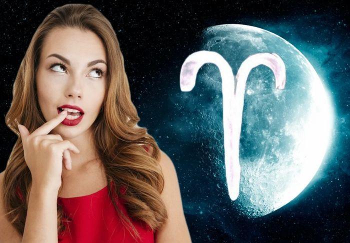 луна в овне гороскоп