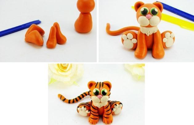 новогодний тигр 2022 поделки