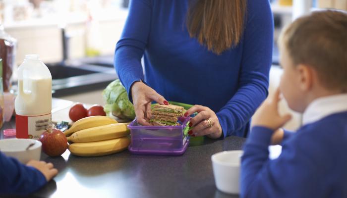 перекус ребенку в школу