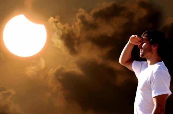 как пережить солнечно затмение