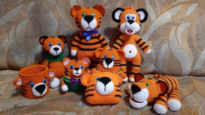 тигрята своими руками