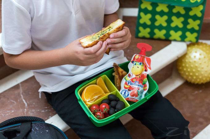 вкусный ланч для ребенку