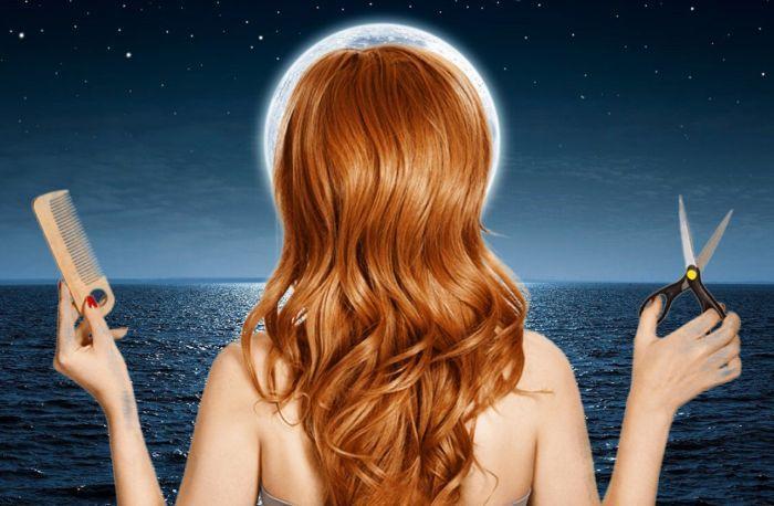 влияние луны на волосы